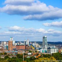 Leeds Skyline in Summer (3:2)