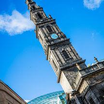 Trinity Church Clock Tower Leeds