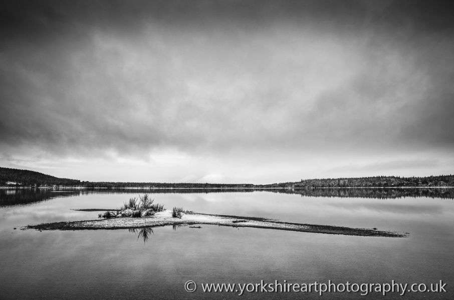 The Island. Loch Morlich, Aviemore, Scotland UK