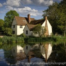 Willy Lott's House, Flatford, Suffolk, UK