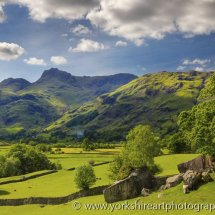 Langdale In Sumner, Lake District, Cumbria, UK
