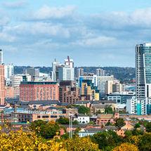 Leeds Skyline in Summer (pano)