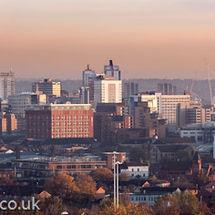 Leeds Skyline- Morning Light