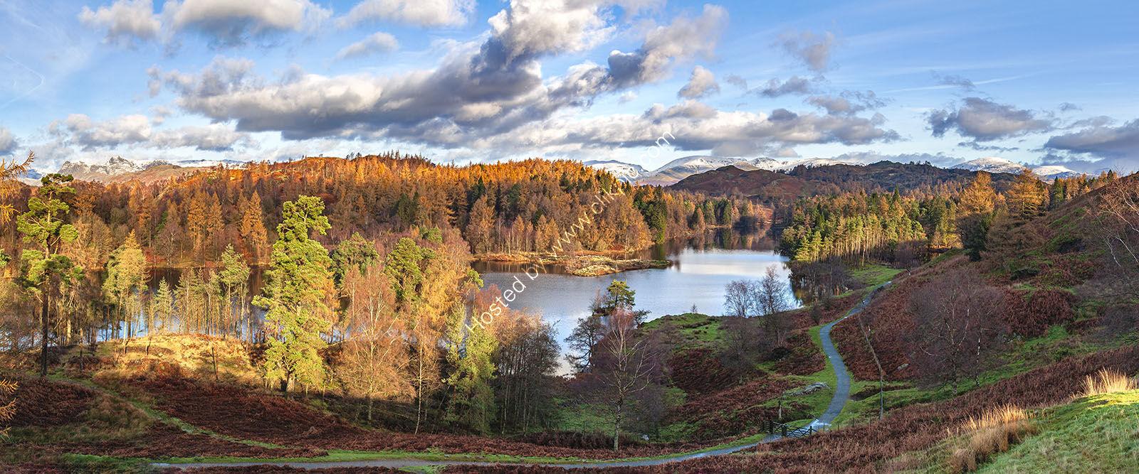 Tarn Hows in Autumn 1