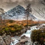 Buachaille Etive Mor, Glencoe in Winter