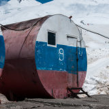 Barrel No.9 Elbrus Base Camp
