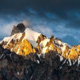 Unknown ridge in evening sunlight