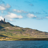 Loch Leathan and Old Man of Storr