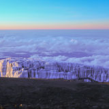 Kilimanjaro Glaciers at sunrise