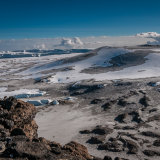 Kilimanjaro Crater and snowfields