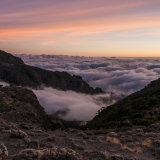 Barranco Gap at sunrise on Kilimanjaro