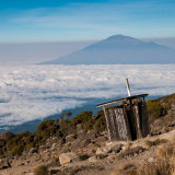 Room with a view above the clouds, Kilimanjaro