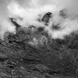 Misty day in Coir a' Ghrunnda