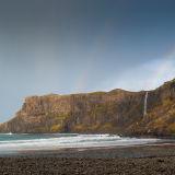 Rainbow over Talisker Bay, Skye