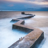 St Monans Breakwater at sunset