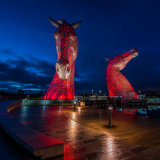 The Kelpies, near Falkirk Scotland