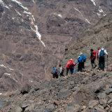 Group descending Toubkal
