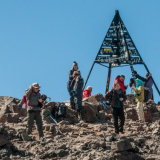 Summit of Toubkal, 4167m, Morocco