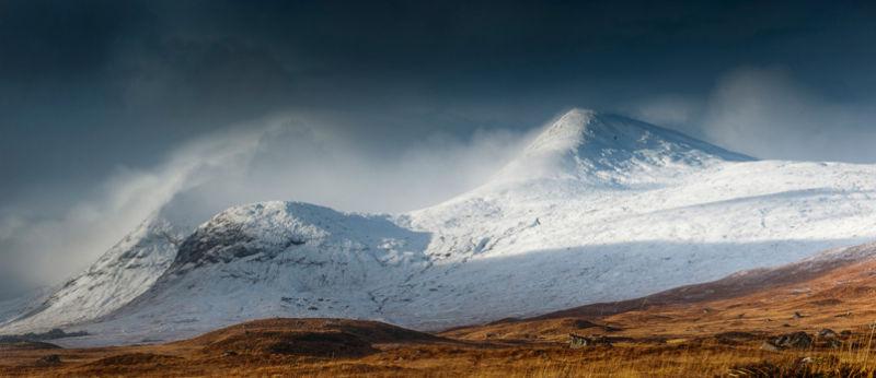 Winter on Rannoch Moor