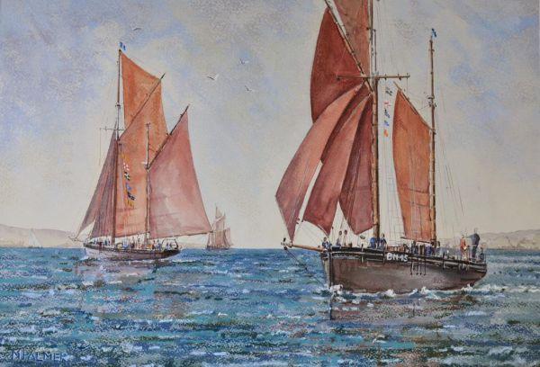 Brixham Racing Trawlers