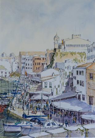 Ciutadella Harbour Cafes