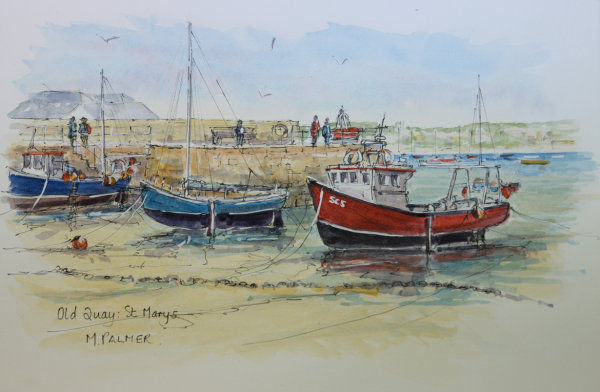 Old Quay. St Marys :Scilly