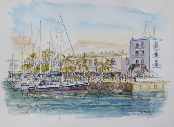 Harbour:Puerto de Mogan
