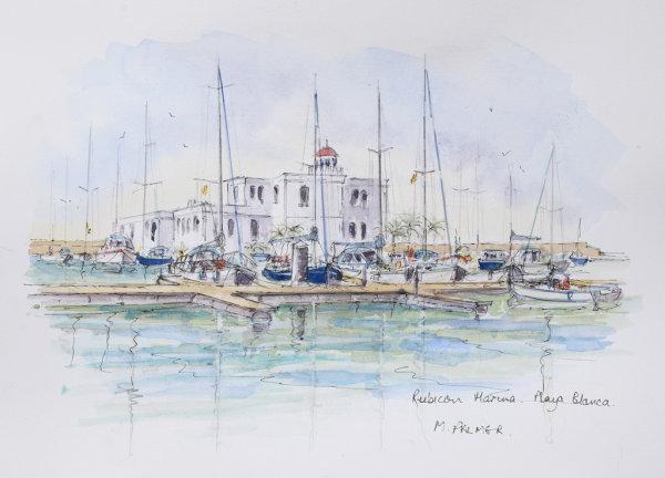 The Lighthouse, Rubicon Marina. Playa Blanca