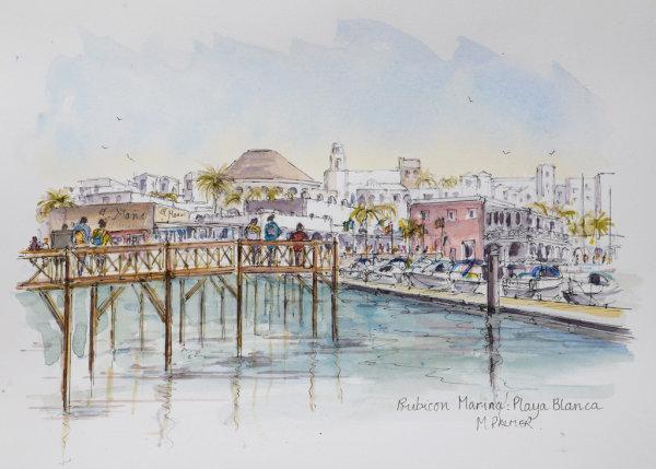 Boardwalk, Rubicon Marina, Playa Blanca