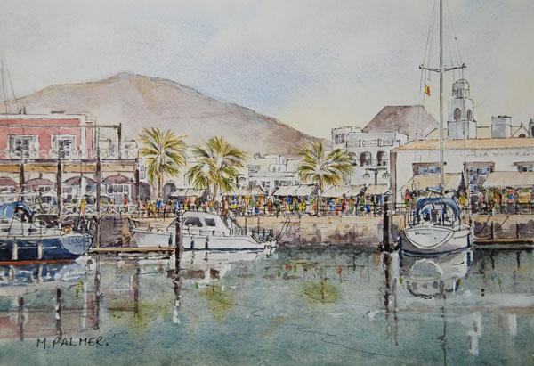 Market Day, Rubicon Marina.(Sold)