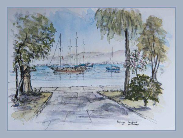 Fethiye waterfront
