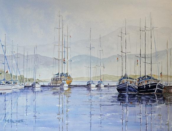 Reflections. Ece Saray Marina.
