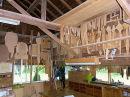 interior of Koji's workshop