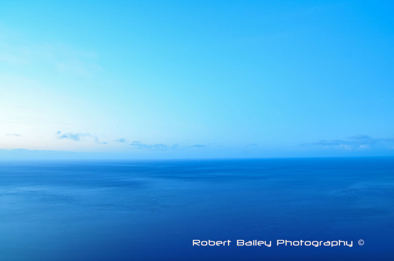 The Atlantic as seen from Funchal, Madiera