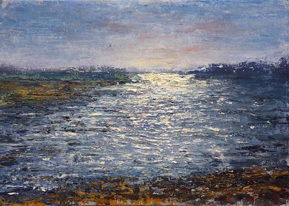 Evening Light, Loch Scridain