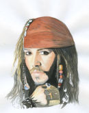 """Captain Jack Sparrow"" (Johnny Depp)"