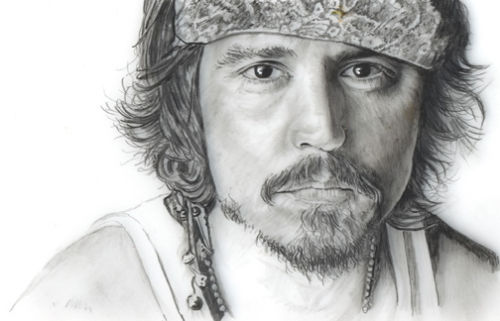 Johnny Depp - Captain Jack Sparrow