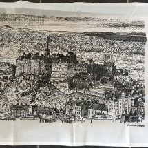 Edinburgh Sketcher - Edinburgh Tea Towel
