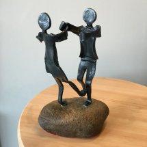 "Small Sculpture ""Kelpie Hornpipe"""
