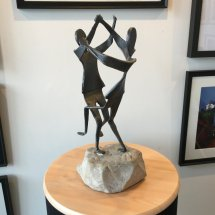 "Large Sculpture ""Posties Jig"""