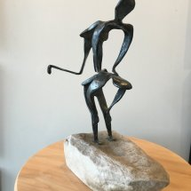 "Large Sculpture ""Leapfrog"""