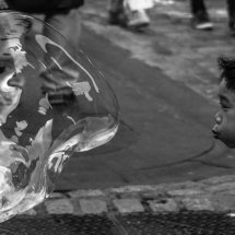 Boy and a bubble!
