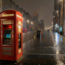 Rainy Royal Mile