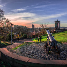 City view From Calton Hill