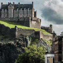 Castle Grey Sky