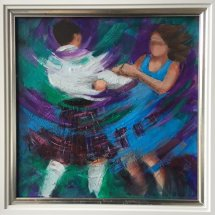 Reely Blue by Janet McCrorie -SOLD
