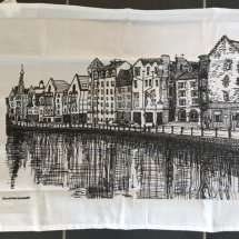 Edinburgh Sketcher - Shore Tea Towel