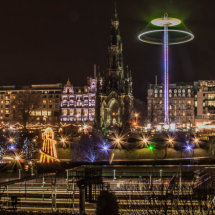 Christmas in Princes Street Gardens