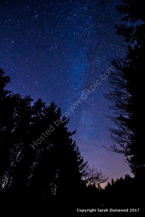 Milky Way at Beacon Fell
