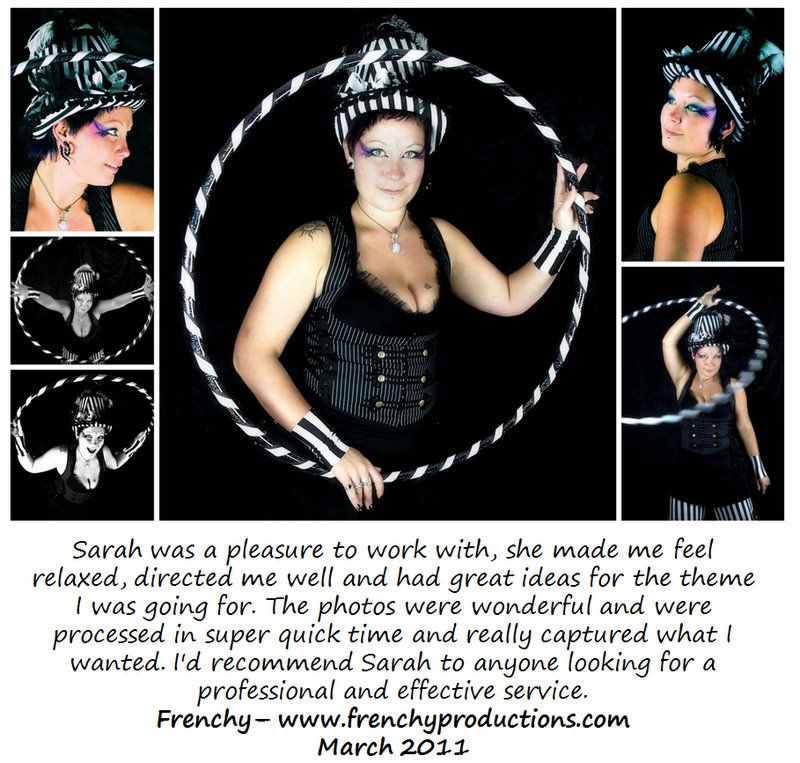 Frenchy - Fire and Hoop performer